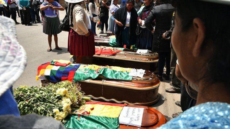 Suman nueve los muertos por la represión en Cochabamba