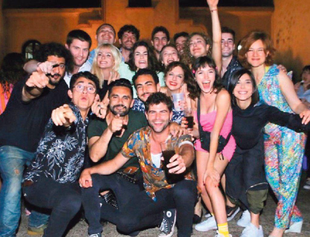 Argentina, tierra de amor y venganza celebró el fin de las grabaciones y el éxito de la tira y ya se piensa en una segunda temporada