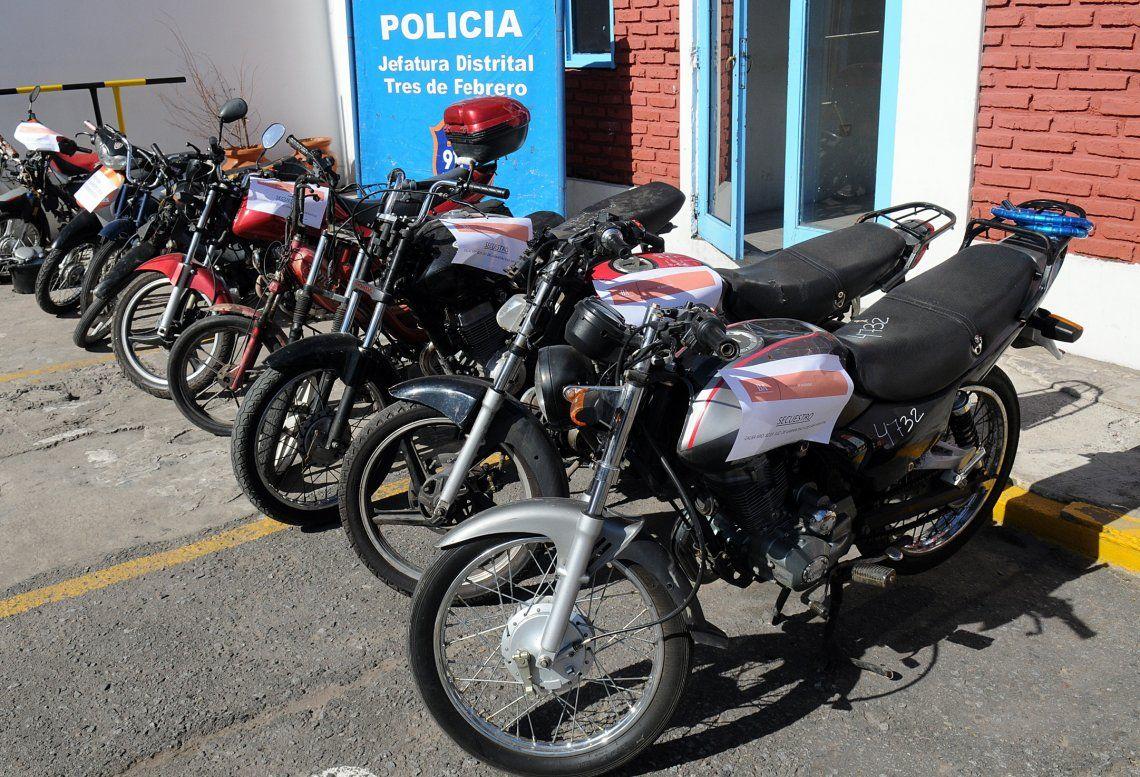 En el año 2018 las cifras certifican más de 18.000 robos de motocicletas.