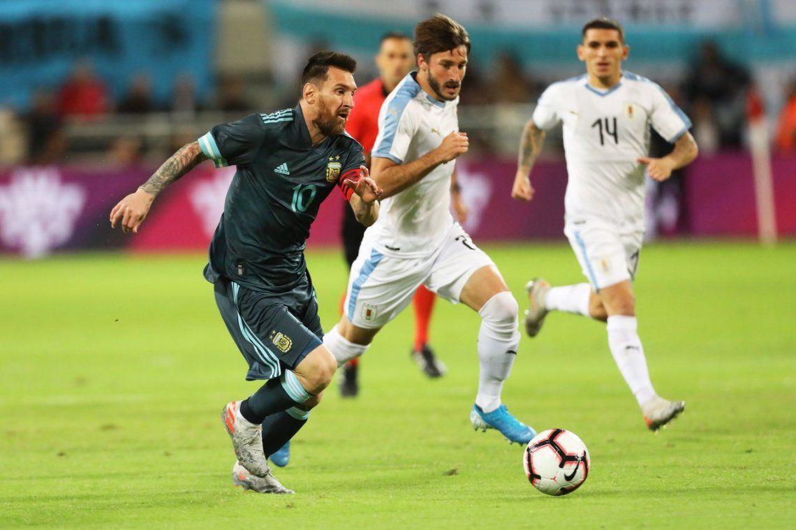 Amistoso | Argentina empató ante Uruguay en Tel Aviv