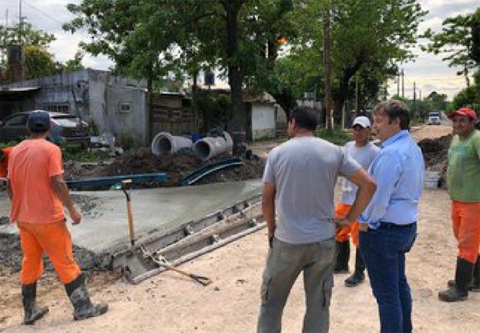Almirante Brown: Mariano Cascallares prometió asfaltar todo el Distrito