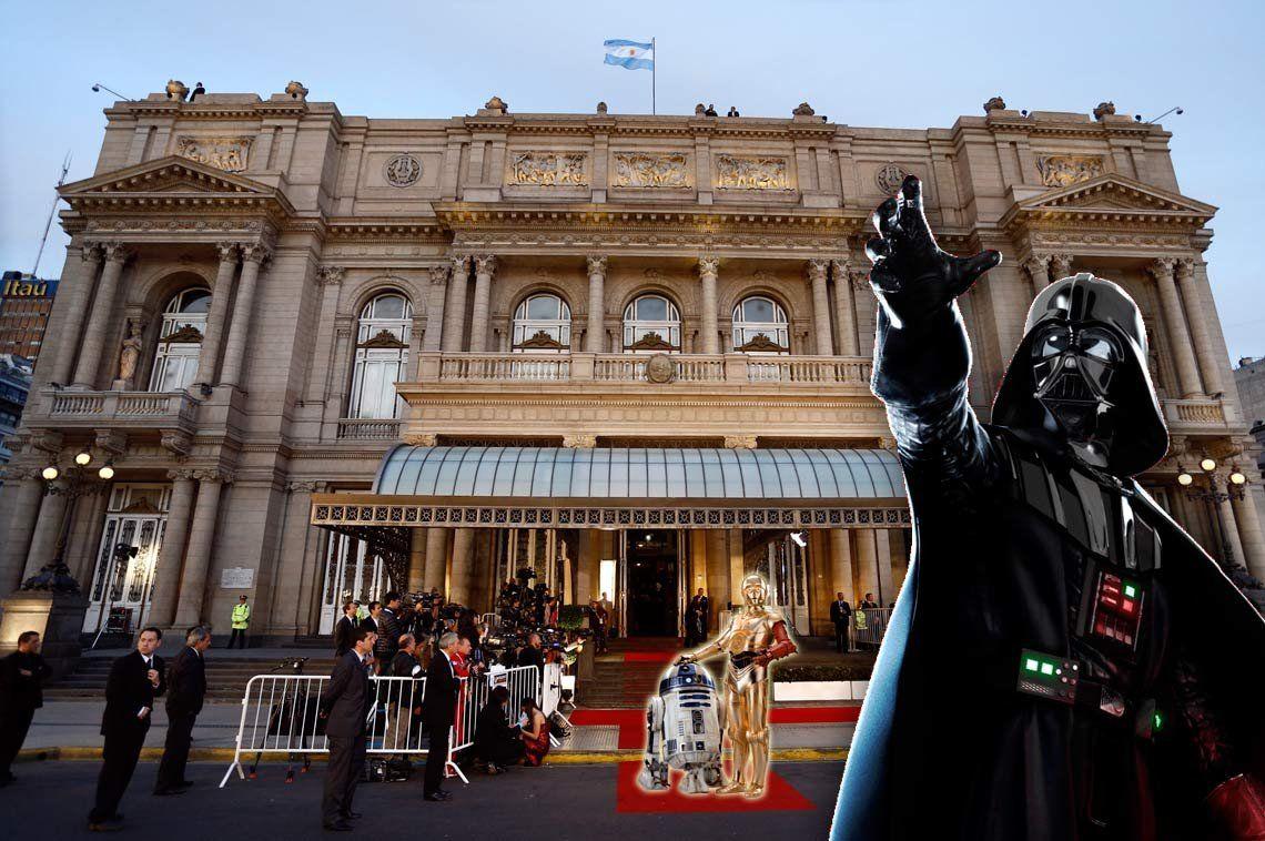 Star Wars, con orquesta en vivo, llega al Teatro Colón