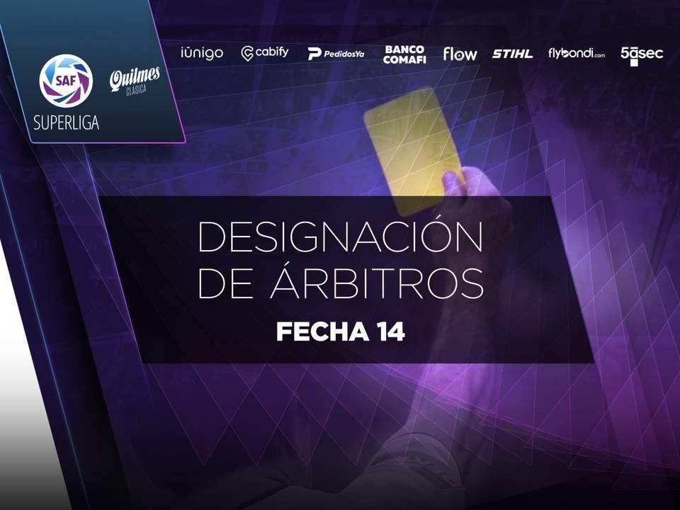 Superliga y Ascenso: estos serán los árbitros de la próxima fecha del fútbol argentino