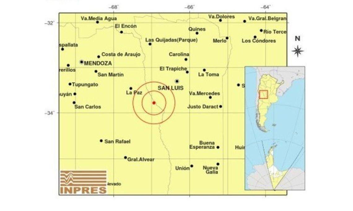 Temblor en la Argentina: un sismo de 6° tuvo epicentro en Mendoza y se sintió hasta en Buenos Aires