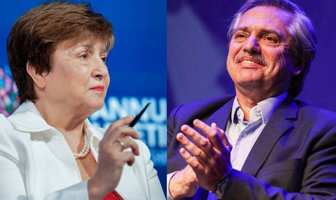 Alberto Fernández habló con la titular del FMI y acordó pagar la deuda sin más ajuste
