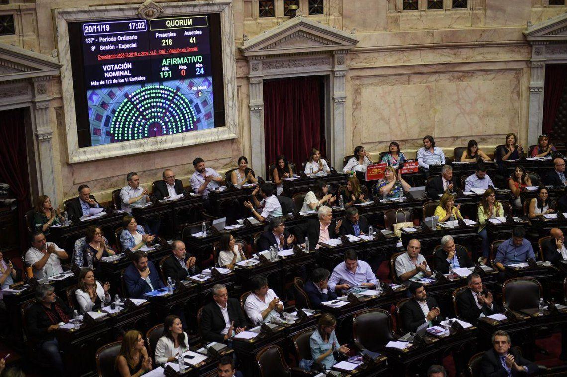 Congreso Nacional: convocan a sesiones extraordinarias del 13 al 31 de diciembre