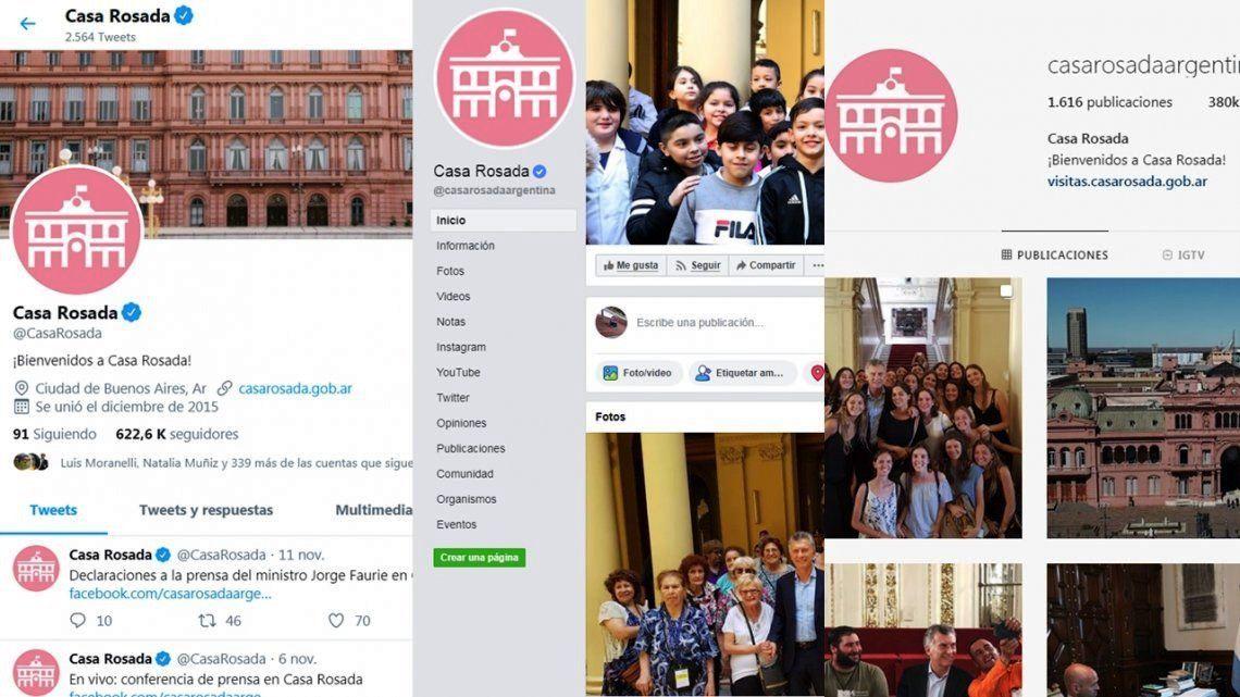 Comenzóla transición de las redes sociales del Gobierno Nacional