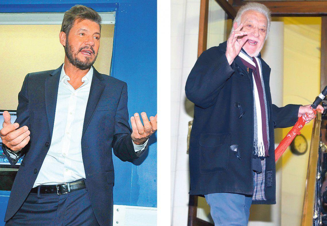 Marcelo Tinelli demandará al Coco Basile por tratarlo de ladrón