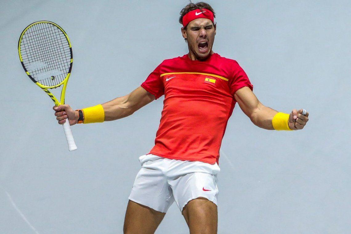 Copa Davis: España tuvo a un Nadal inspirado y Argentina se despidióen cuartos