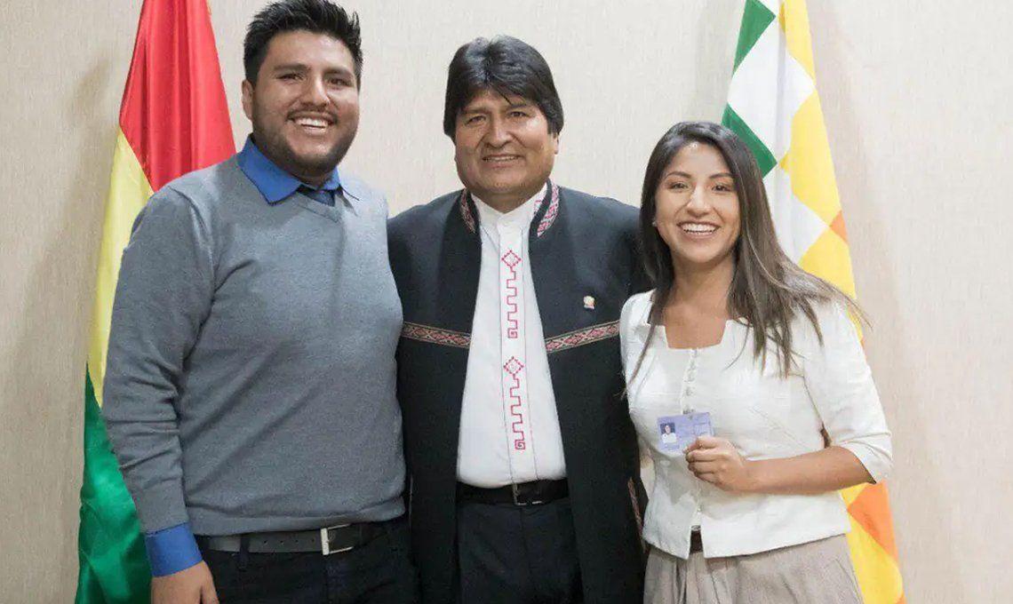 Golpe en Bolivia: los hijos de Evo Morales llegaron a la Argentina