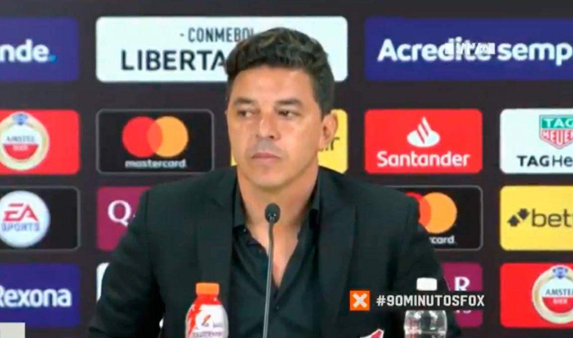 River - Flamengo | Marcelo Gallardo entre la tristeza y el orgullo: Hay que levantar la cabeza