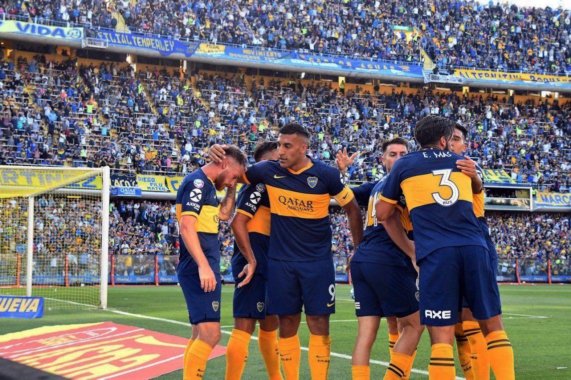 Boca superó a Unión sin problemas y es único puntero