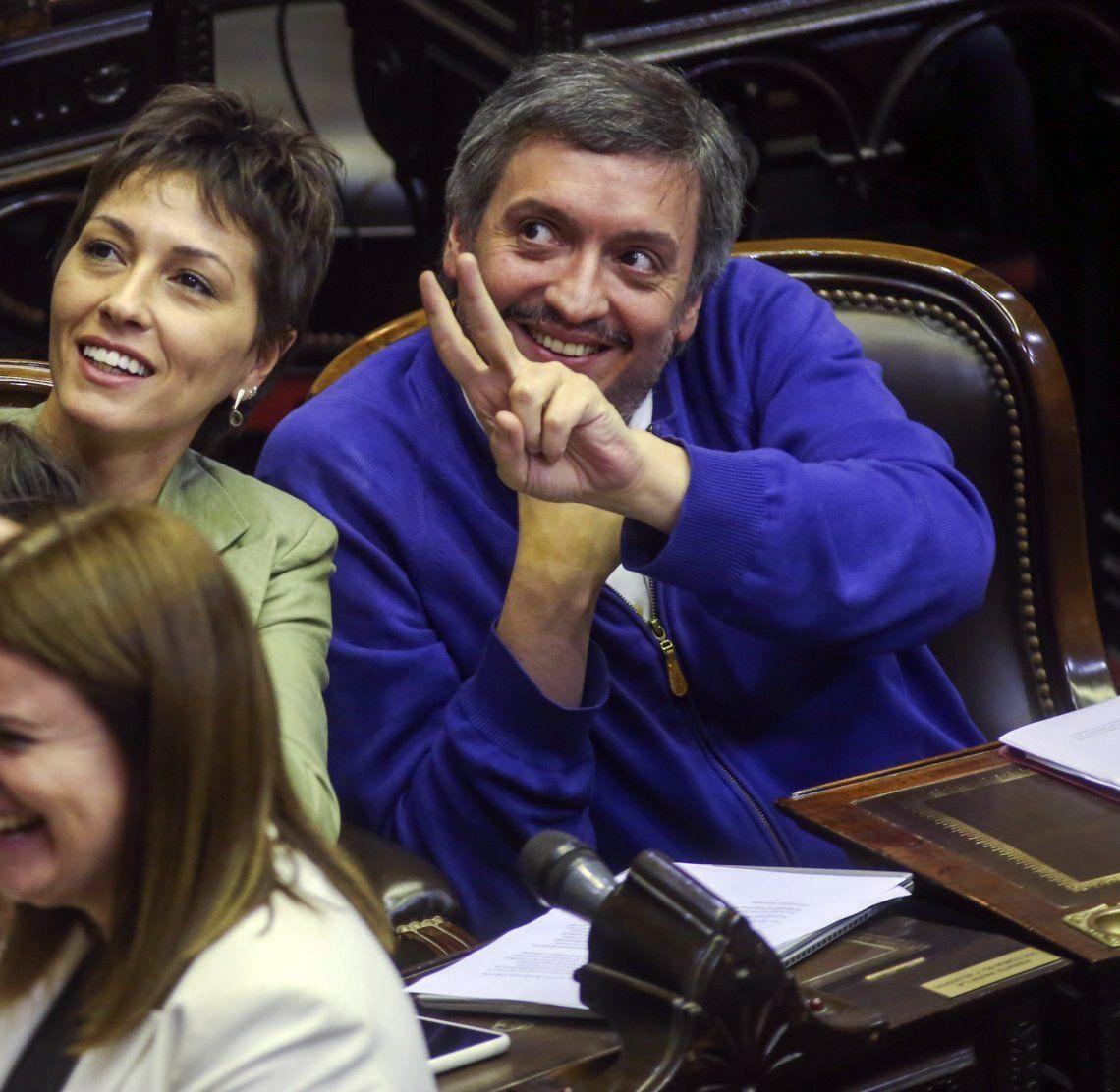 Máximo Kirchner liderará el bloque del Frente de Todos.