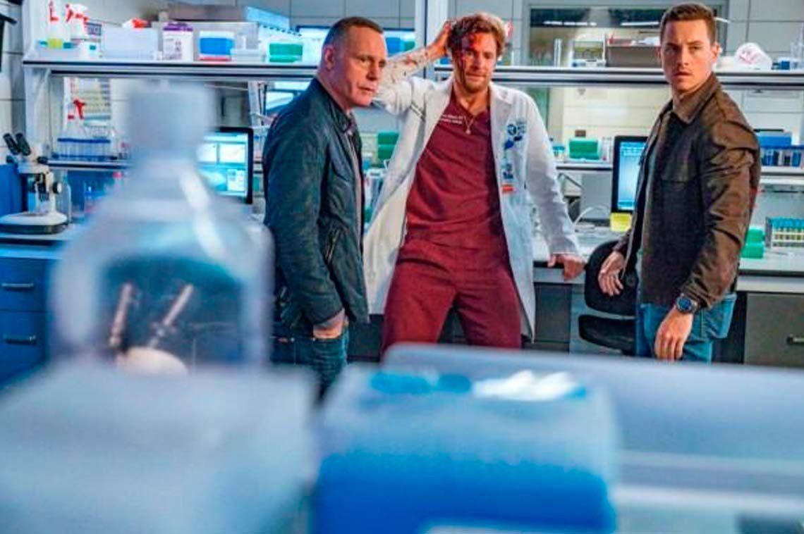 Las series Chicago Fire, Chicago P.D. y Chicago Med se juntan por primera vez en pantalla