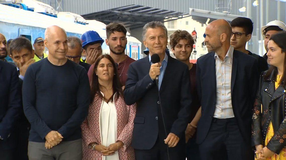 Macri prometió ejercer una oposición constructiva y responsable