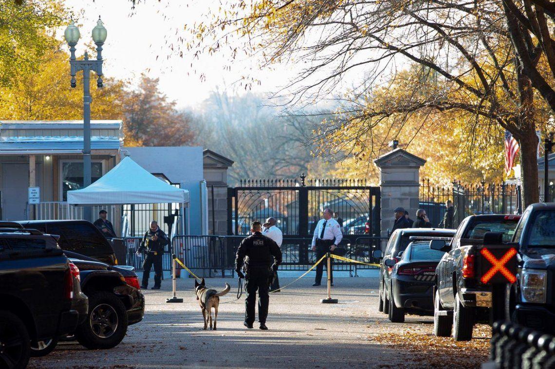 Evacuaron la Casa Blanca y el Capitolio por una aernoave no autorizada