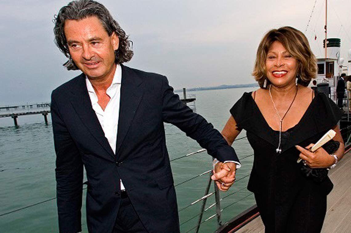 Tina Turner y su esposo Edwin Bach