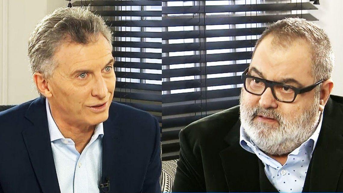 Macri visitó a Jorge Lanata para conocer su estado de salud