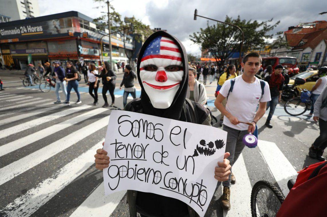 Colombia: miles de personas marcharon en el séptimo día de protestas