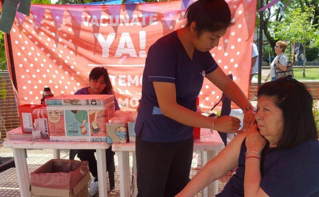 El municipio reforzó los operativos de vacunación