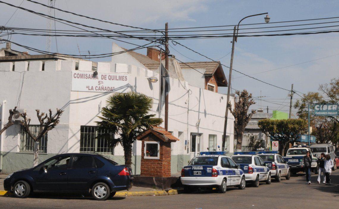 Los familiares de Mena realizaron la denuncia por su desaparición en la Comisaría 5ta. de Quilmes.
