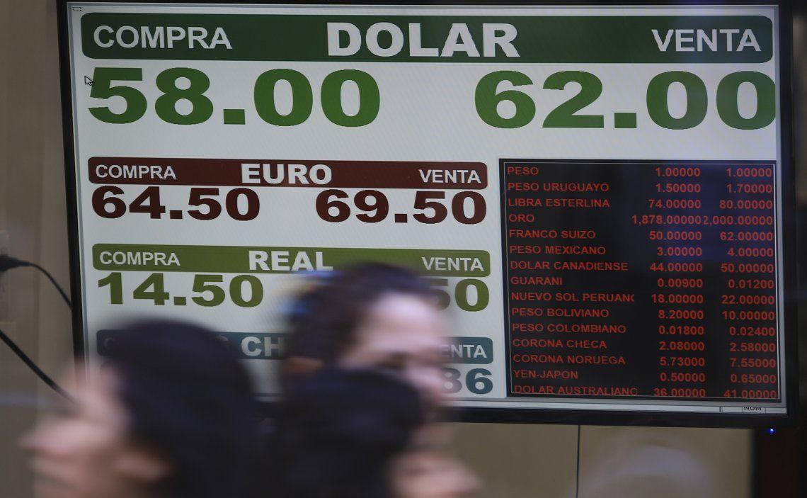 El dólar blue sigue disparándose y se estableció una brecha