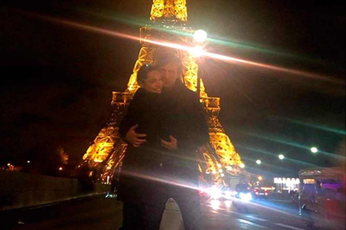 ¿Pampita y García Moritan fueron a París a llamar a la cigüeña?