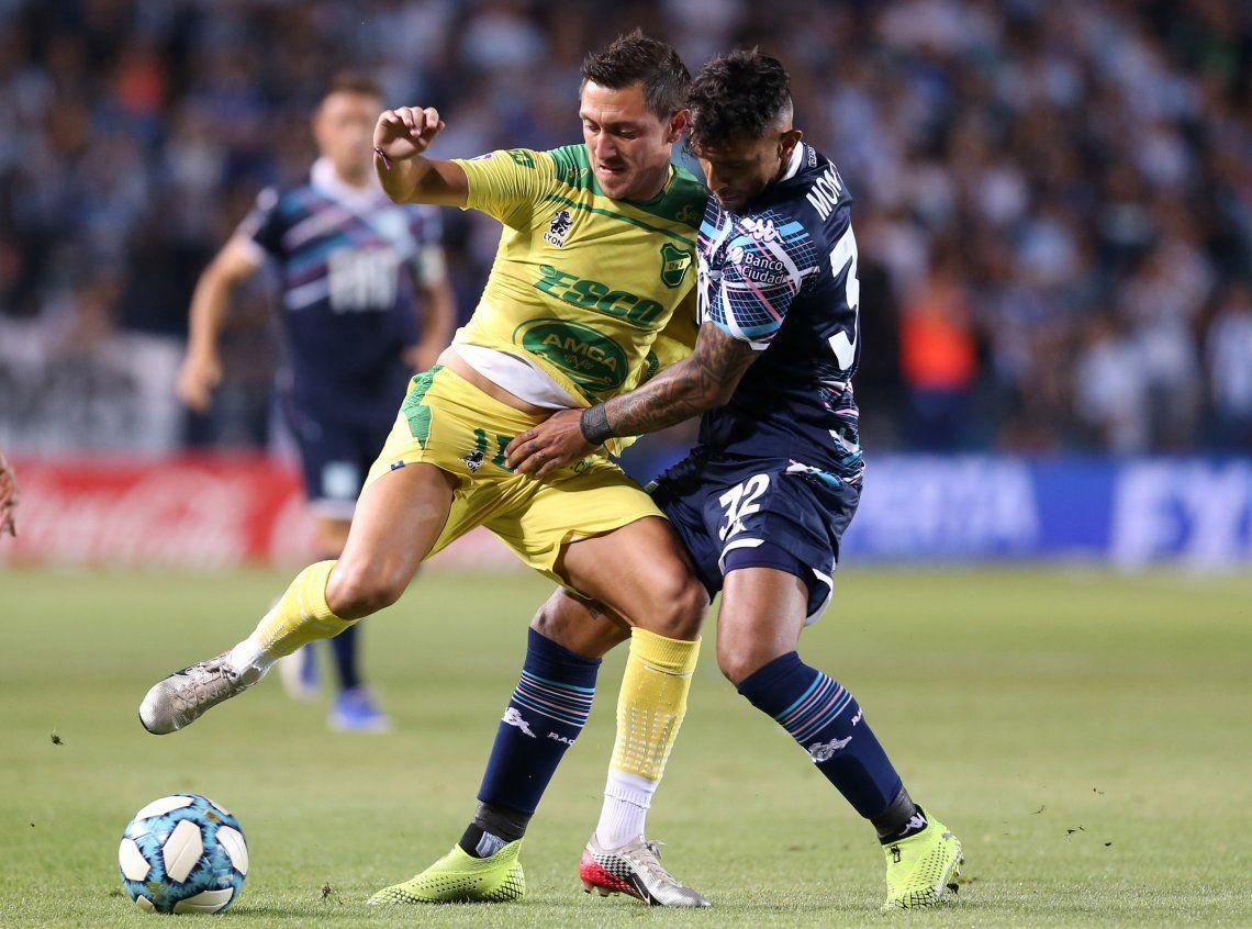 En el último partido de Eduardo Coudet en el Cilindro de Avellaneda, Racing empató 1 a 1 con Defensa y Justicia por la fecha 15 de la Superliga