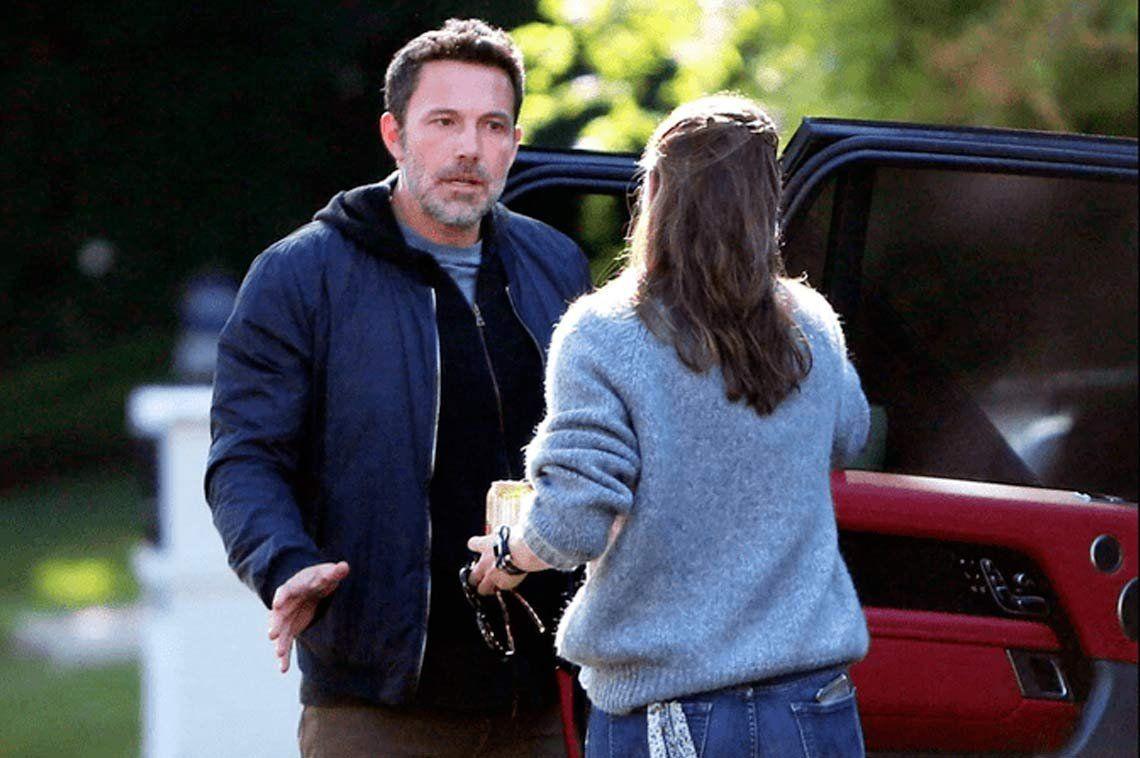 Ben Affleck y Jennifer Garner discutieron en la calle a plena luz del día