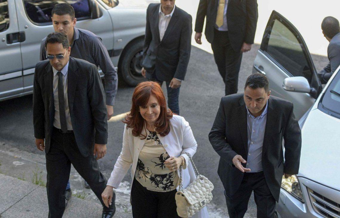 Cristina Kirchner apuntó a Ercolini y Bonadio: Tengo una suerte para los sorteos