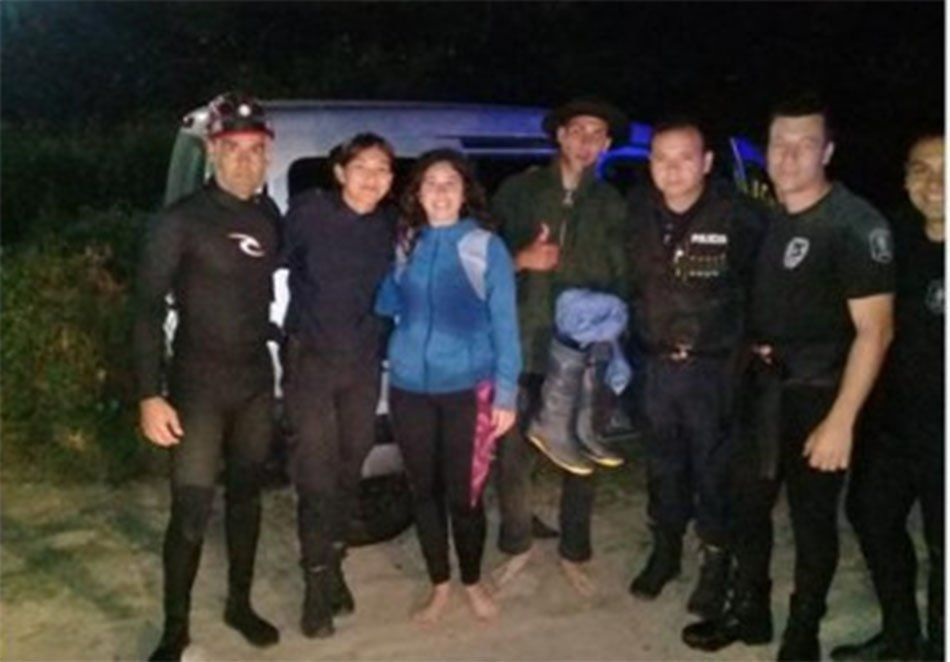 Berazategui: cabalgaban en la costa del Río de la Plata y casi mueren ahogados