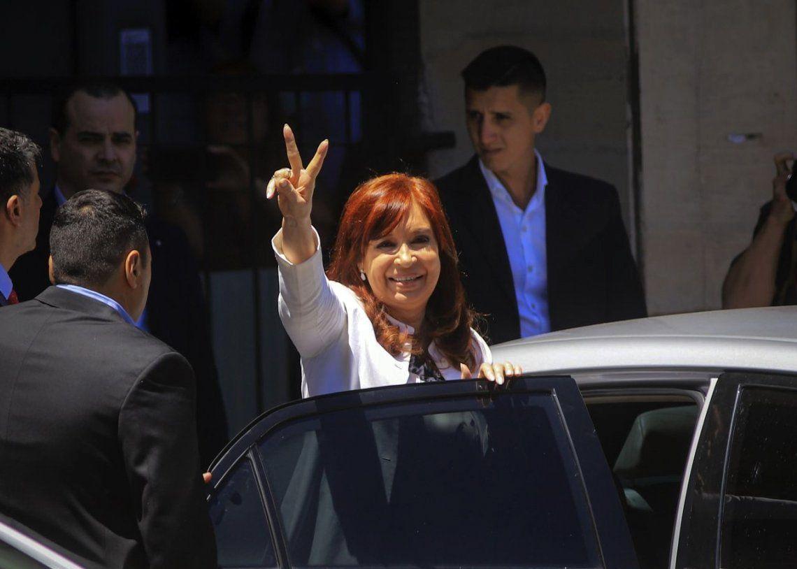 Cristina Kirchner declaró 4 horas en Comodoro Py: El gobierno que se va tenía una mesa judicial que decidía quién iba preso