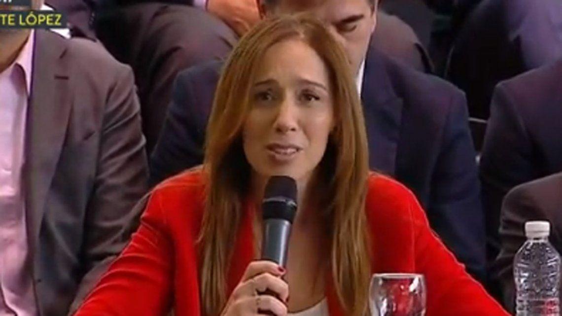 María Eugenia Vidal: Que nos elijan porque somos mejores; no porque este Gobierno fracasó