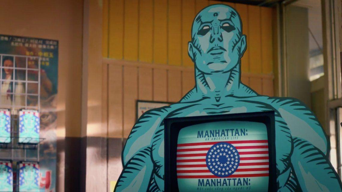 Watchmen: el creador explica la sorpresiva aparición de Dr. Manhattan
