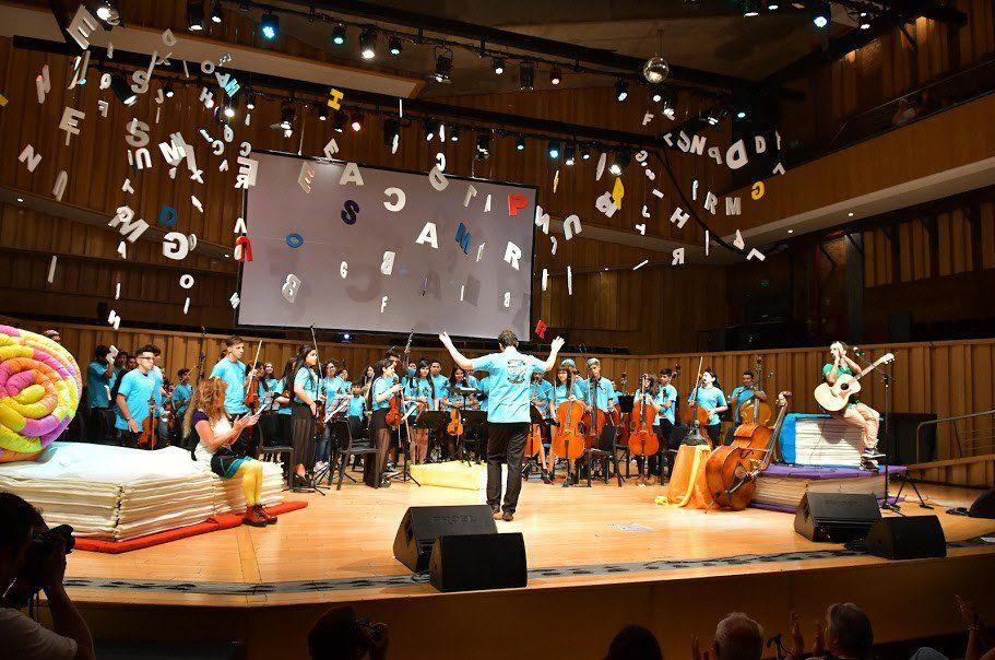 Exitosa presentación de la Orquesta Escuela del barrio La Carolina en la Usina del Arte.