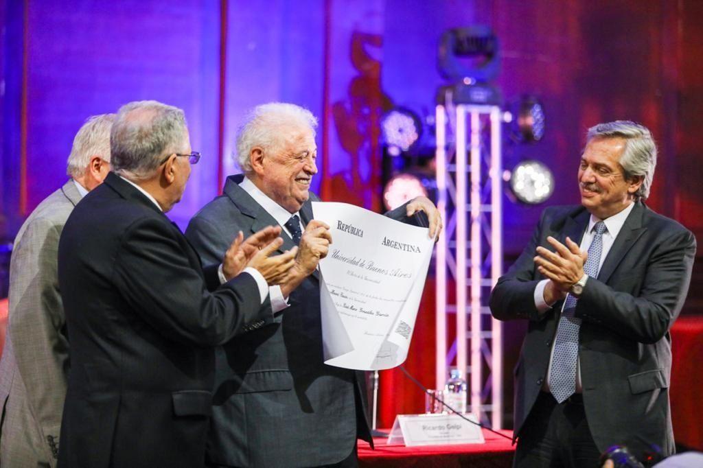 Alberto Fernández confirmó que Ginés González García será el ministro de Salud