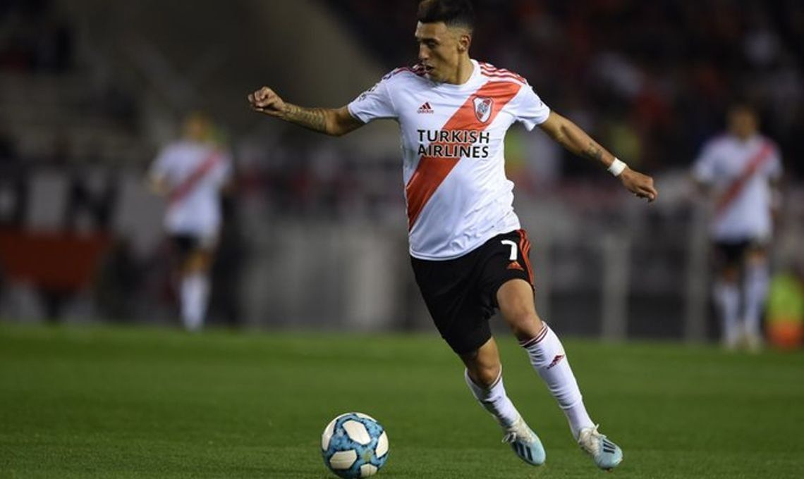 Suárez está mejor, viaja esta noche a Mendoza y Gallardo lo prueba mañana