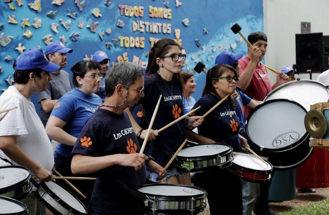 Vicente López: se inauguró el segundo mural inclusivo por el Día Internacional de las Personas con Discapacidad