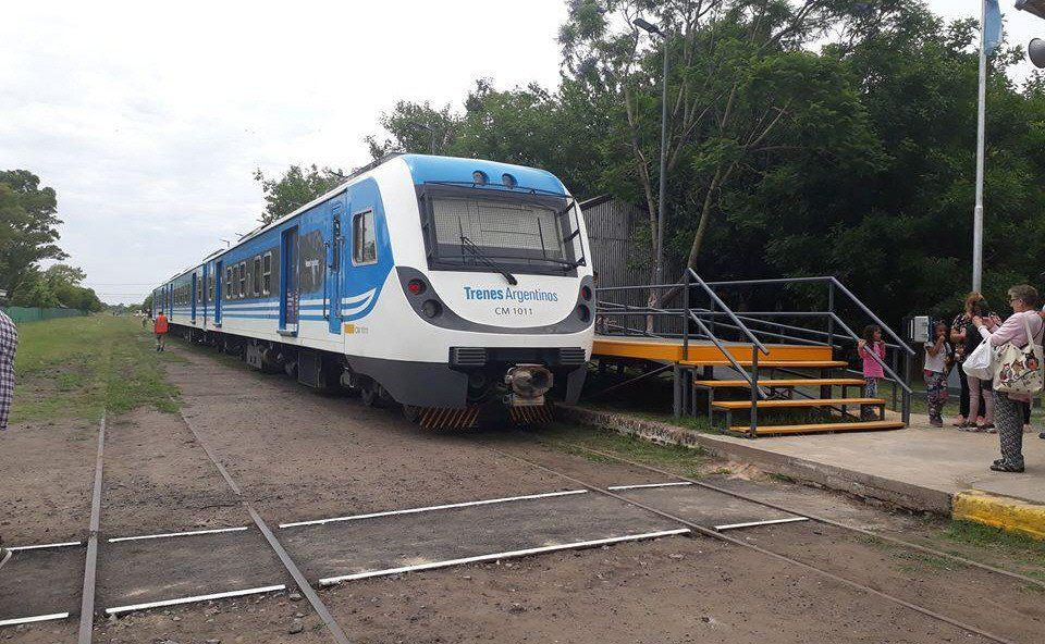 El tren que realiza el viaje de Catán