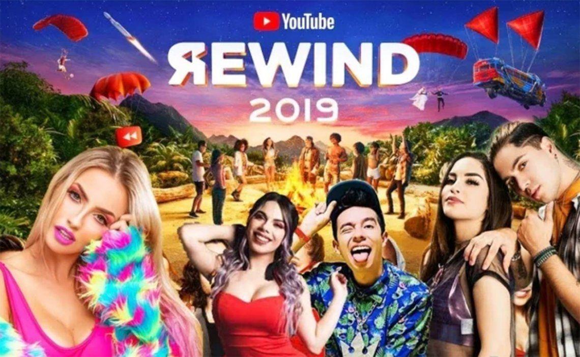 #YouTubeRewind: cuáles fueron los videos más vistos en YouTube en 2019
