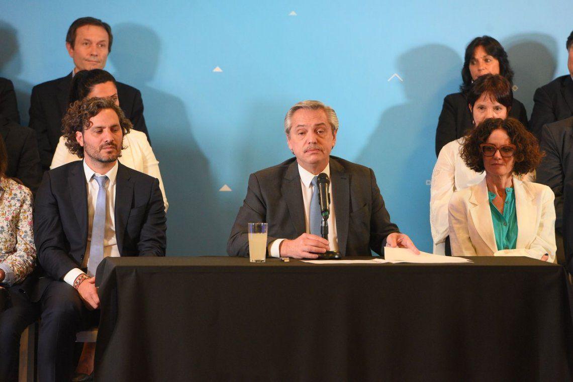 Gabinete: cómo definió Alberto Fernández a cada integrante de su equipo