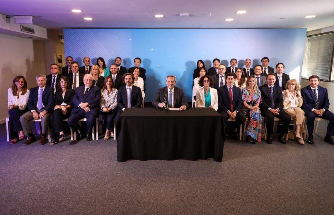 Alberto Fernández anunció el gabinete nacional: Los convoco a hacer la epopeya