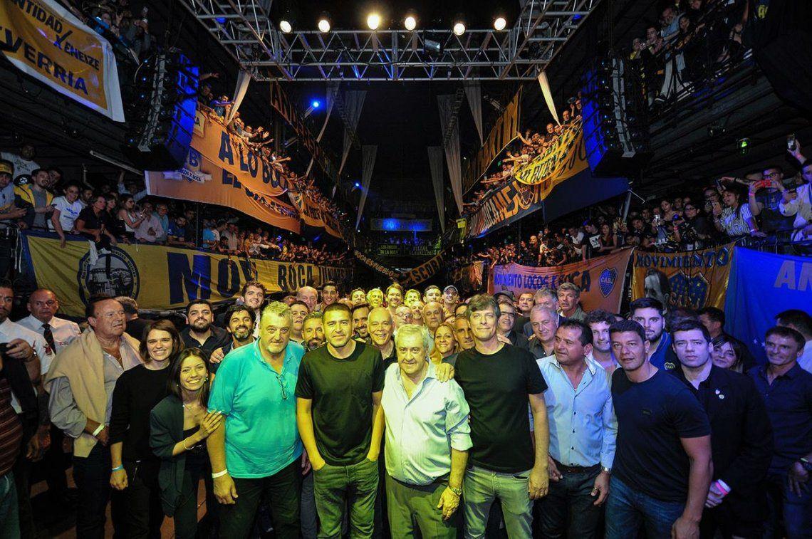 Elecciones en Boca: Ameal, Pergolini y Riquelme juntos para recuperar la identidad xeneize