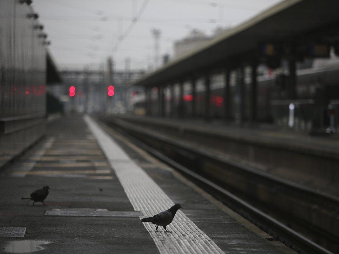 Ayer se realizó la segunda jornada de paros casi totales en ferrocarriles y transporte metropolitano.