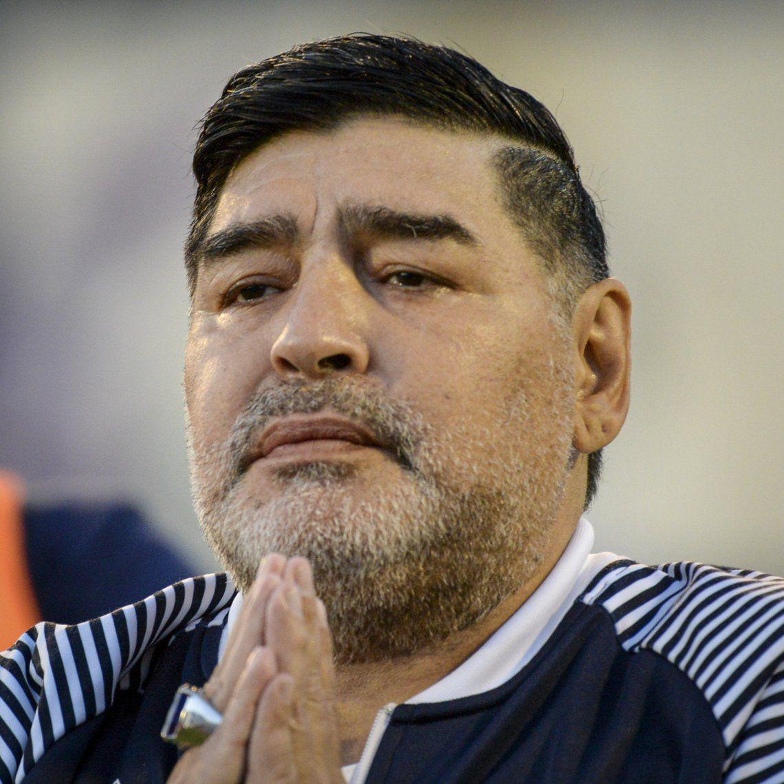 Diego Maradona cambia de táctica por la visita de Verónica Ojeda a lo de Susana Giménez
