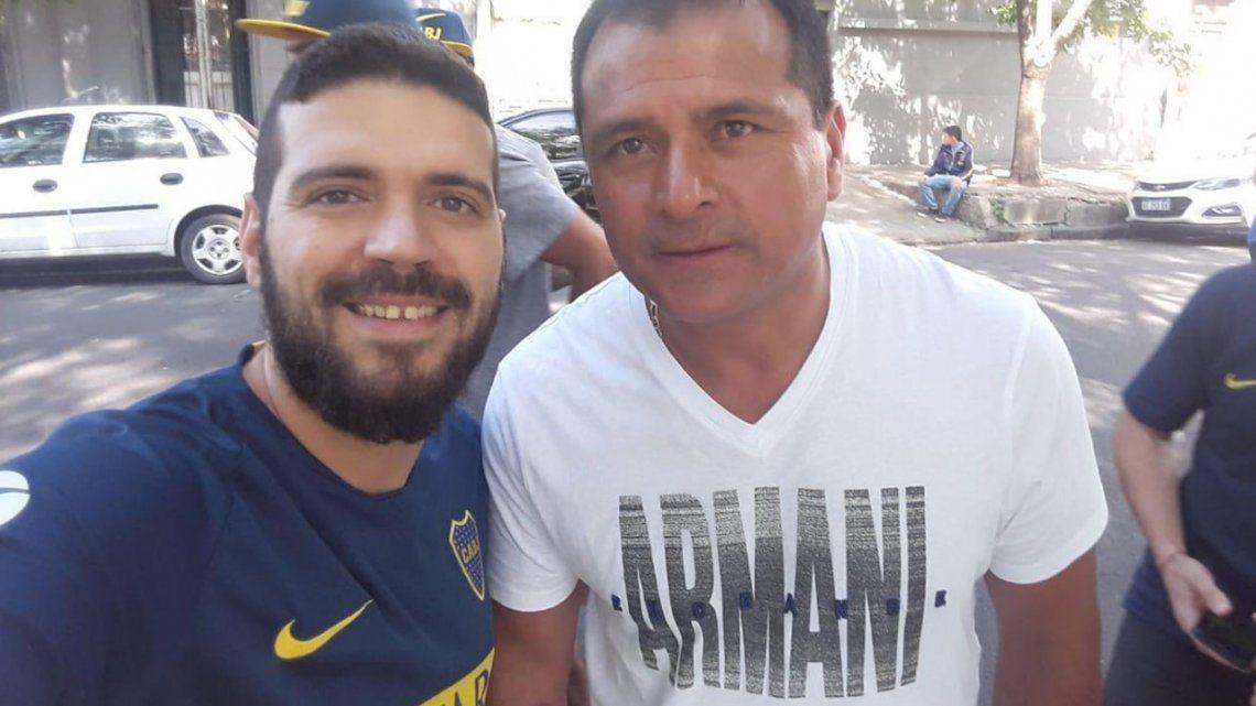 Las perlitas de las Elecciones en Boca: del canto de Riquelme a la extraña remera del Chelo Delgado
