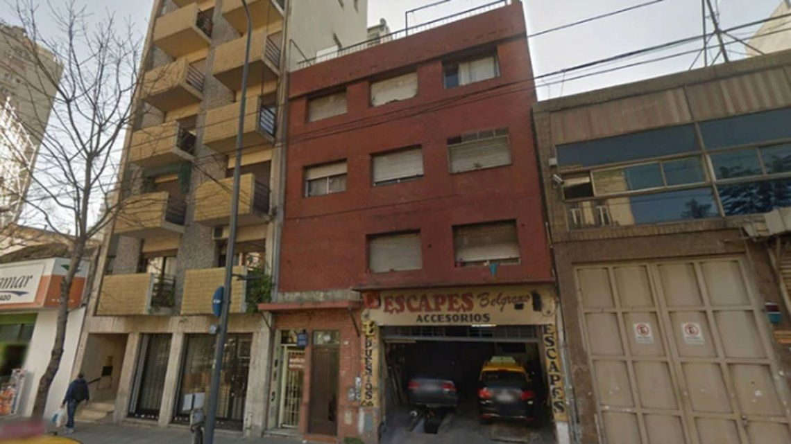 Balvanera: un nene se cayó de una terraza de un edificio de tres pisos