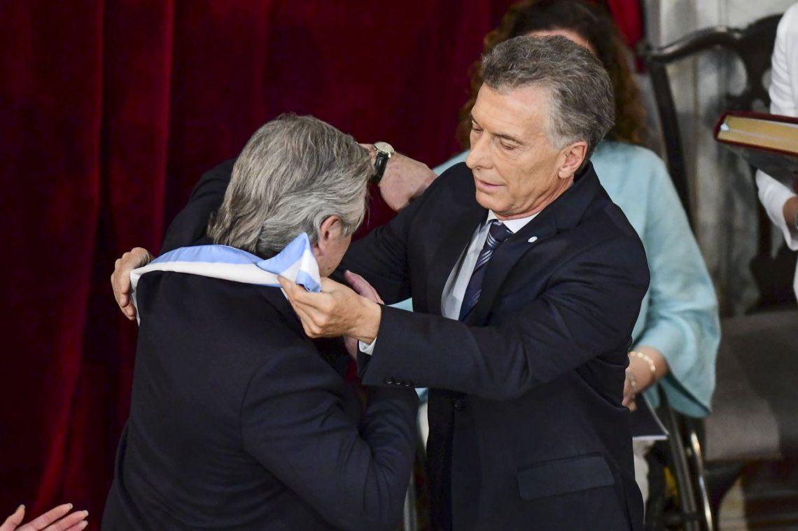Video: así fue el traspaso de mando de Mauricio Macri a Alberto Fernández