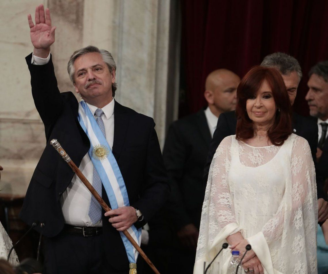 La transcripción completa del discurso de Alberto Fernández tras su asunción