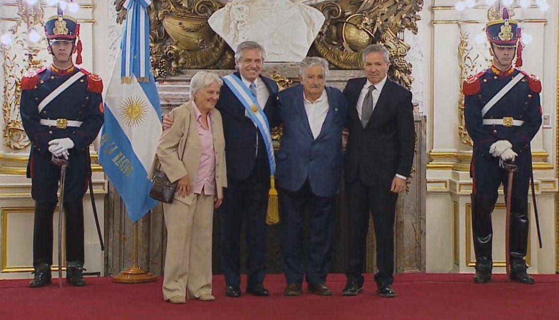 Mujica, Correa y Díaz Canel, algunos de los dirigentes que fueron a la asunción